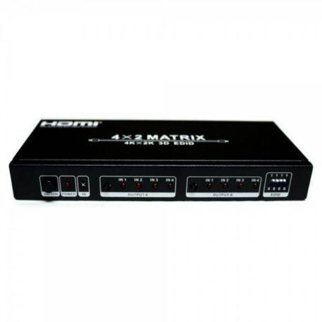 Matrix HDMI 4X2 RedLeaf