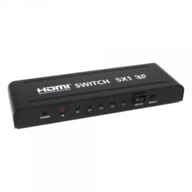 Switch HDMI 5x1 RedLeaf