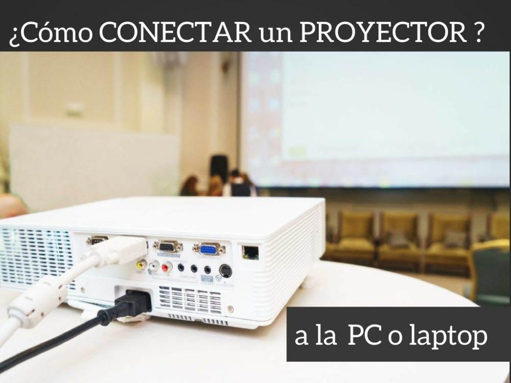 Conectar un proyector