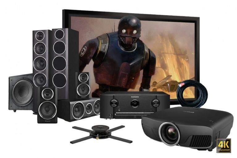 Ver TV en un proyector