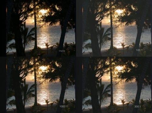 qué es el contraste de un proyector