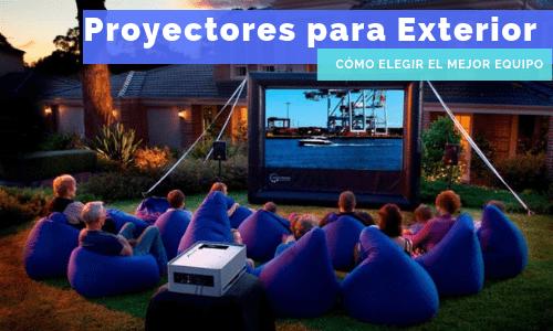 proyectores para exterior