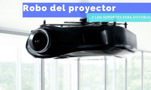 robo del proyector