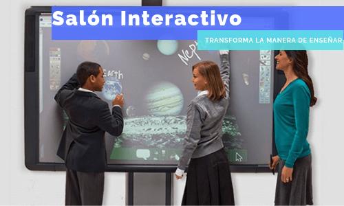 salon de clases interactivo