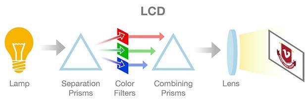 DLP Y LCD