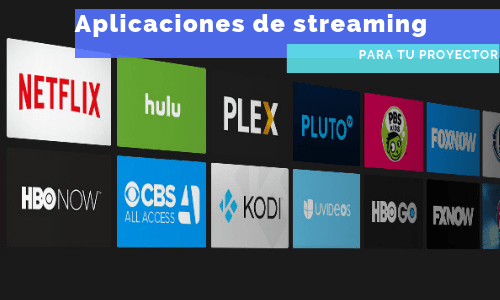 aplicaciones de streaming