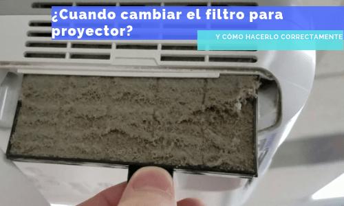 filtro para proyector