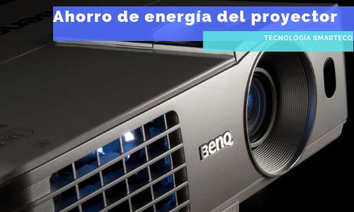 ahorrar energía con un proyector