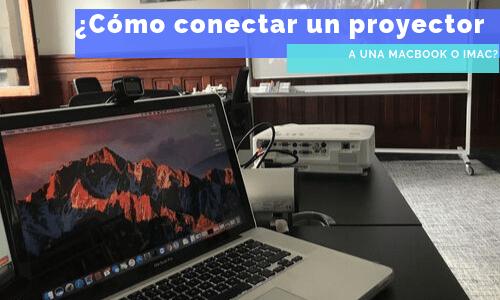 conectar proyector a una mac