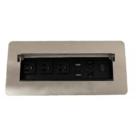 panel de conectores esc02