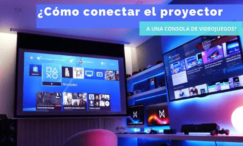 conectar el proyector a una playstation