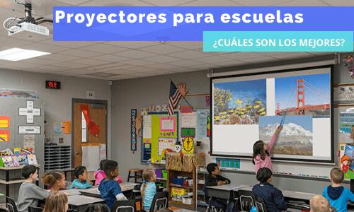 proyectores para escuelas