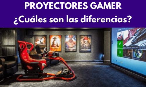 proyectores gamer