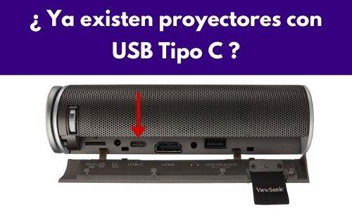 proyectores con usb tipo c